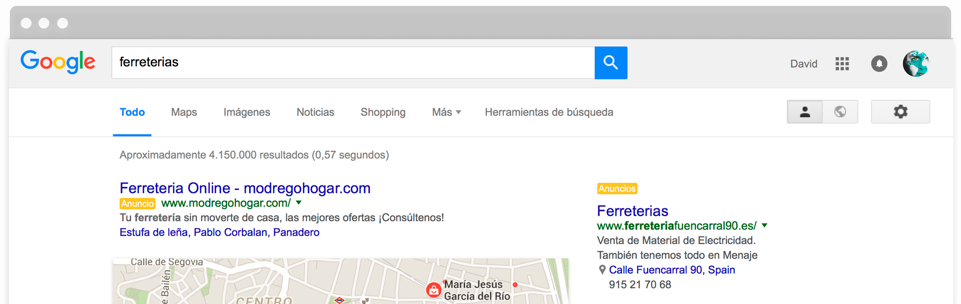 SEM SEO Google Adwords Posicionamiento